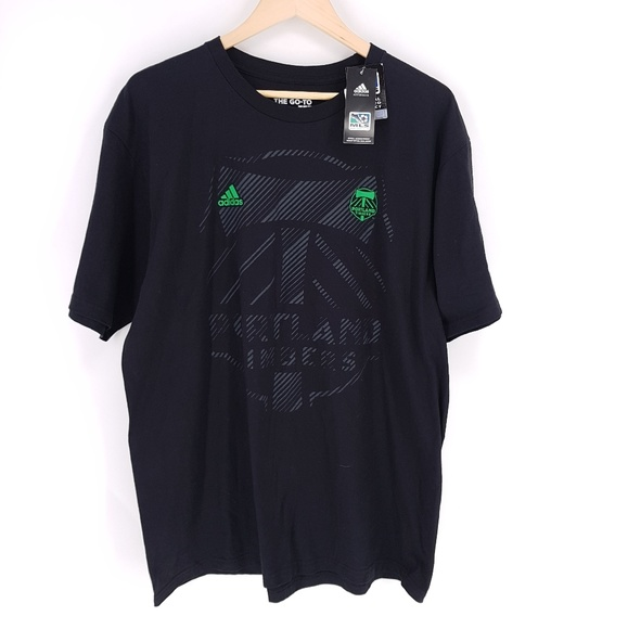 competitive price e9906 aaa16 🎉3/$15 Adidas Portland Timbers Johnson Tee Shirt NWT